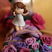 觸摸真正的玫瑰