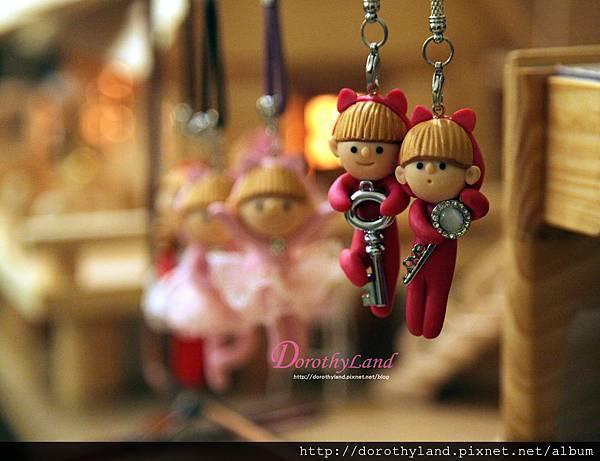 永遠的情人愛之鎖掛飾