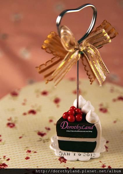 甜蜜巧克蛋糕夾