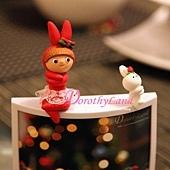 紅兔妹妹燈座