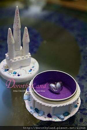 沙灘城堡置物盒/DIY戒指