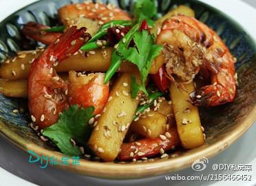 菜譜-芝香土豆虾