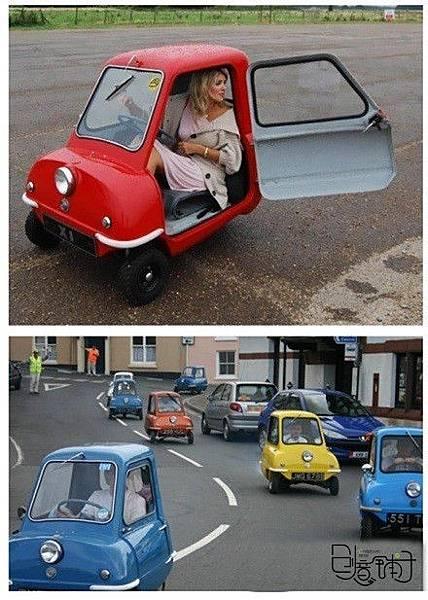 生活新知-超可愛的單小小車...