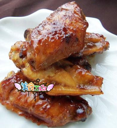 食譜-叉烧酱焖鸡翅