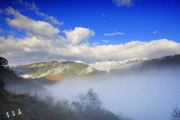 台七甲望雪山