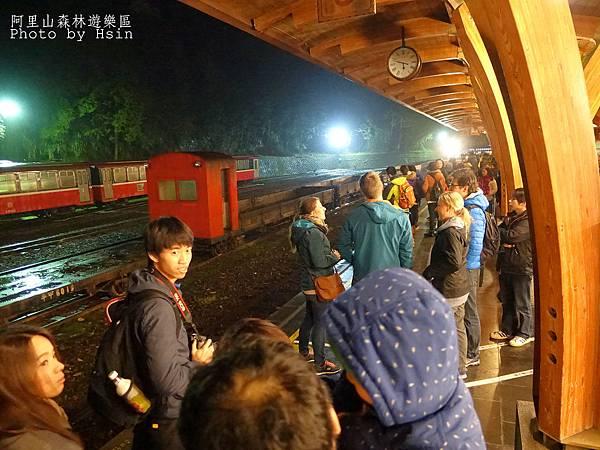 清晨沼平車站往祝山