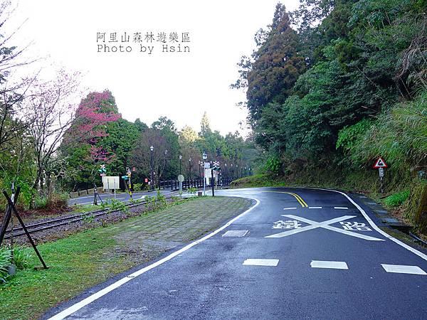 對高岳火車站步道