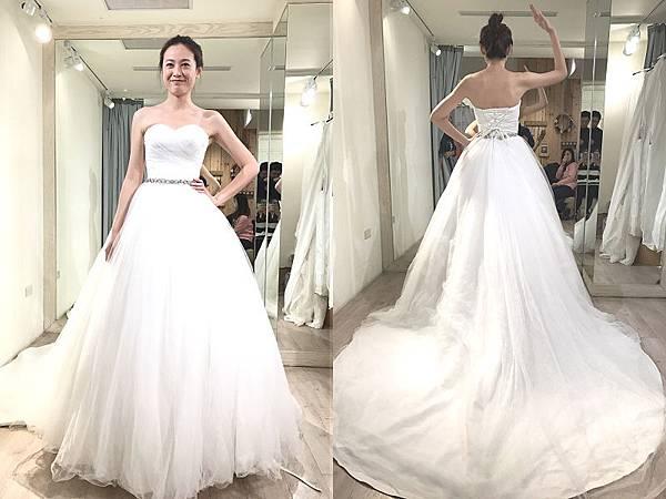 綿谷婚紗試穿