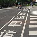 17.四維路成功路規畫良好的腳踏車專用道.JPG