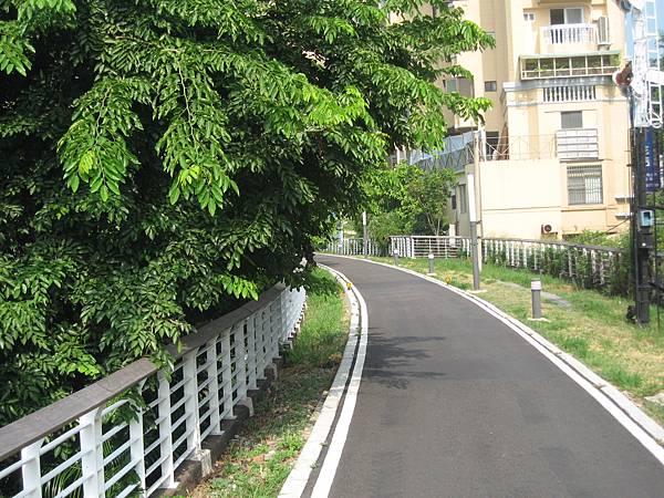 40.臨港線,由鐵軌改建成的腳踏車步道.JPG