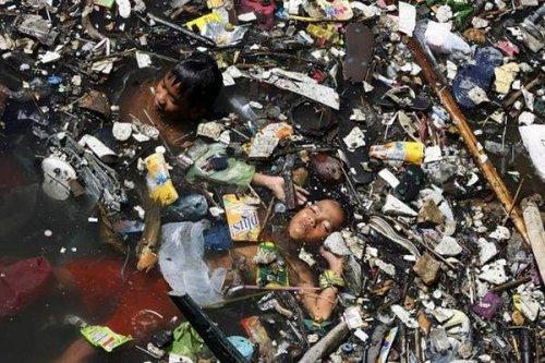 礦泉水造成的汙染