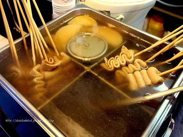韓國忠武路早餐車魚板
