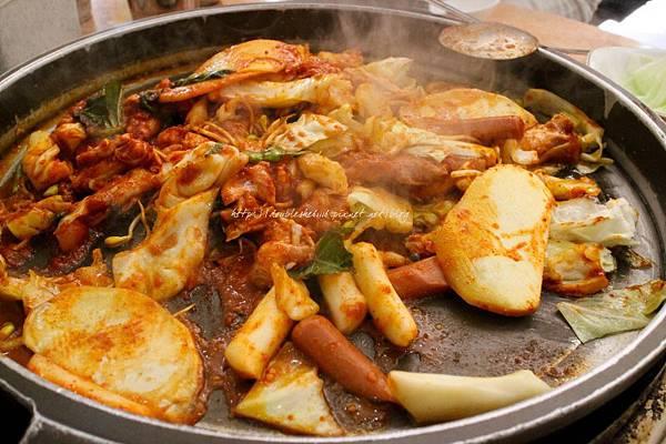 韓國春川辣炒雞排