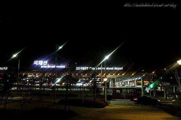 韓國四天三夜自由行金浦機場