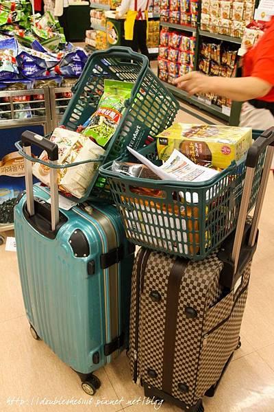 韓國四天三夜自由行樂天超市