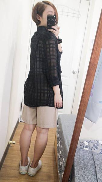 MEIERQ 一週穿搭寬褲襯衫