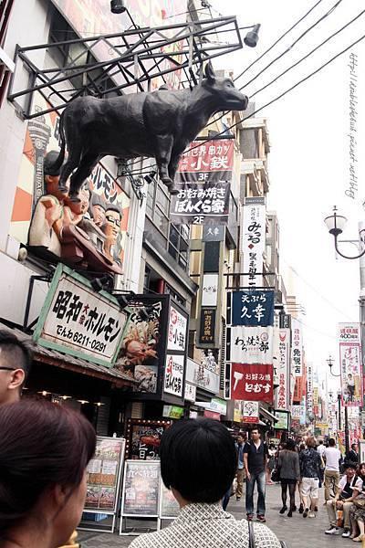 日本大阪五天四夜自由行道頓堀蟹道樂