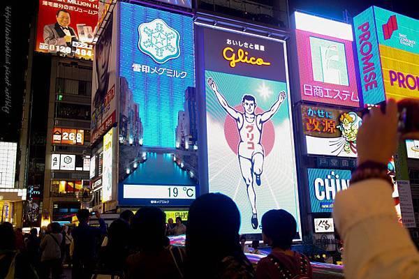 日本大阪五天四夜自由行心齋橋固力果