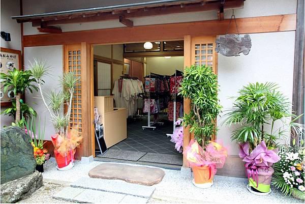 京都岡本和服體驗祉園高台寺