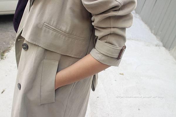 soulsis連身寬褲長版風衣參加婚禮怎麼穿