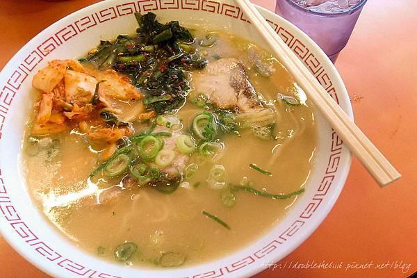 日本大阪必吃金龍拉麵