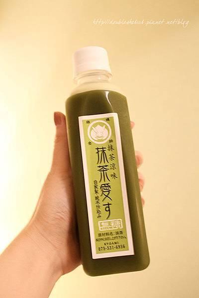 京都抹茶汁飲料