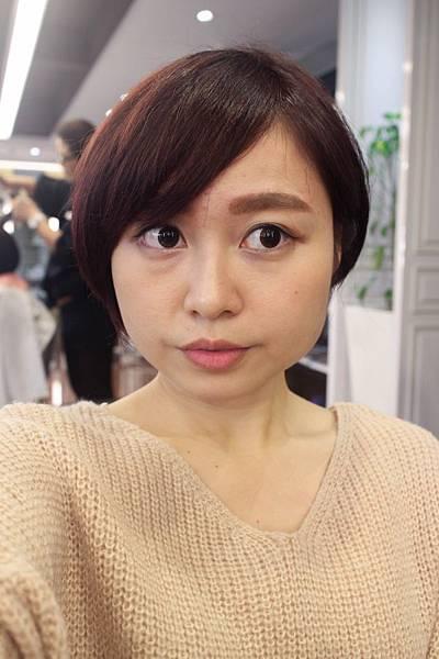 台中Happy Hair豐原三店Cora短髮染髮髮型
