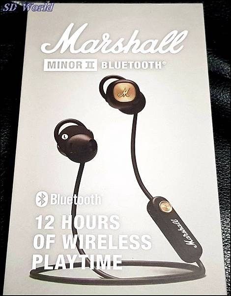 Marshall Minor II Bluetooth 無線藍牙耳機001.jpg