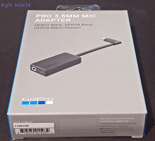 GoPro 麥克風接頭 3.5mm 麥克風接頭 (AAMIC-001)001.jpg