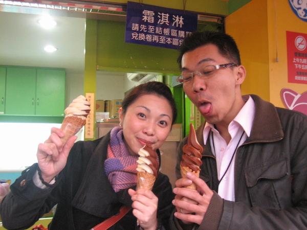 冰淇淋~很美味的樣子.JPG