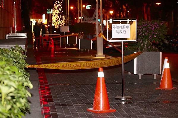 女子遭晶華酒店磁磚砸傷 懷孕22週