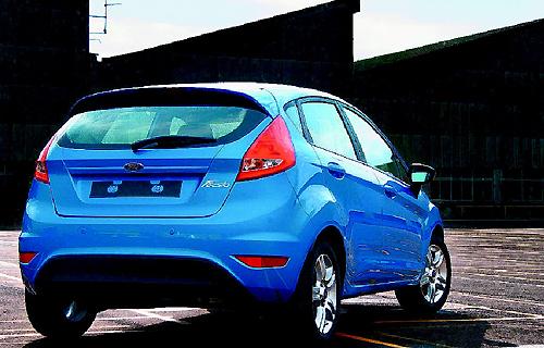 Ford New Fiesta充滿動能美學與創新設計。