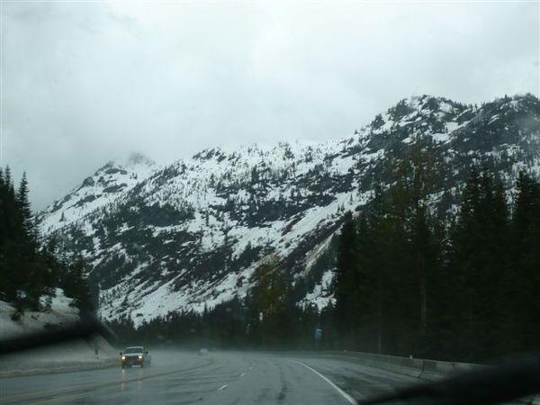 五月雪景,真是太感動了