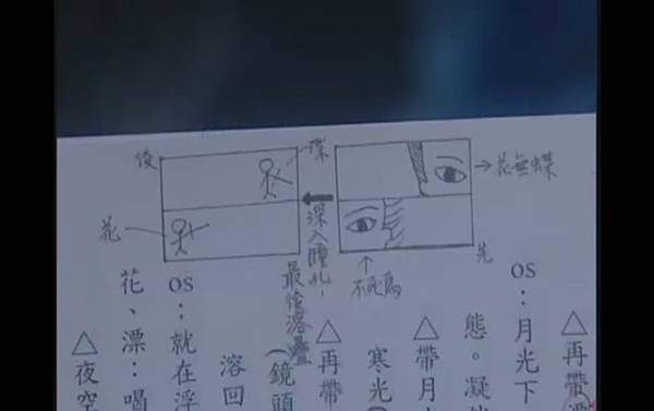霹靂神州三 11集  -  漂VS.花無蝶  -  武戲中出現分鏡表 .jpg