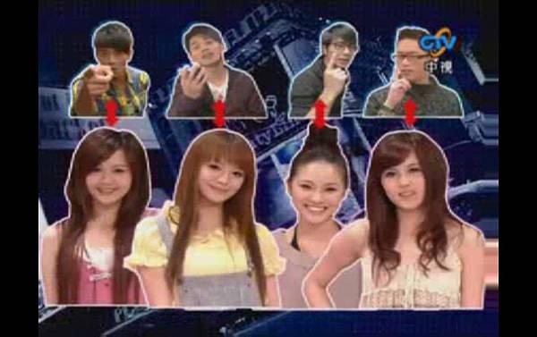 2009-03-21 我猜 人不可貌相 街頭正妹大搜查 (猜誰是30位男大生的最愛?!)
