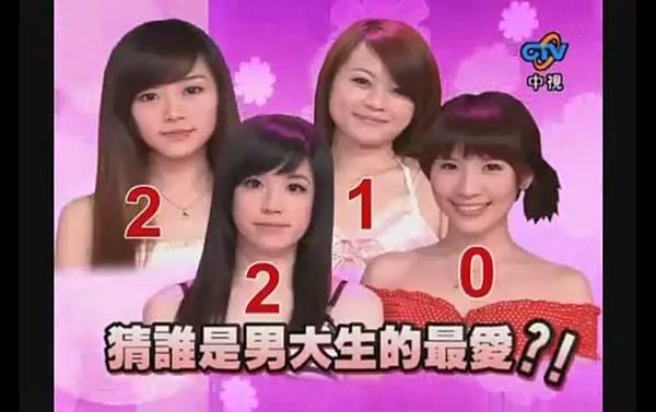 2009-02-21 我猜 人不可貌相 鮮乳系!!超白皙美女 (猜誰是男大生的最愛?!)