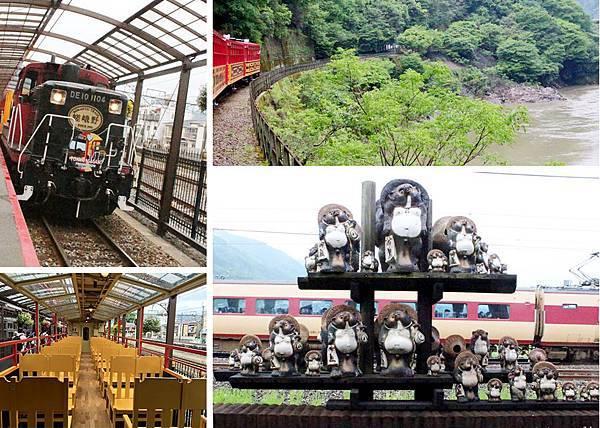 嵐山嵯峨野小火車