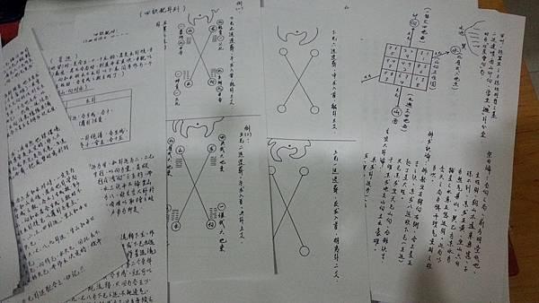 舊講義手稿1