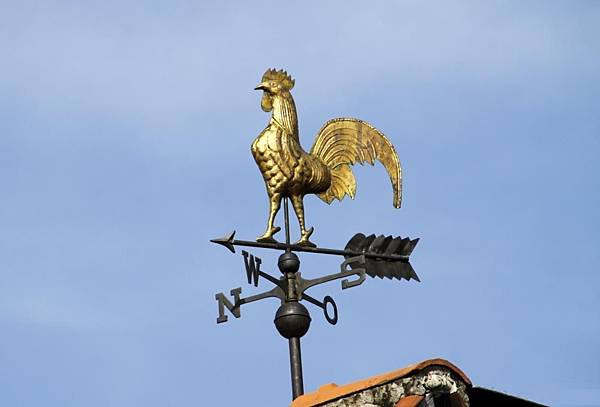 classic-rooftop-weather-vane