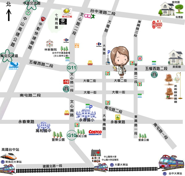 診所 map no bus.jpg