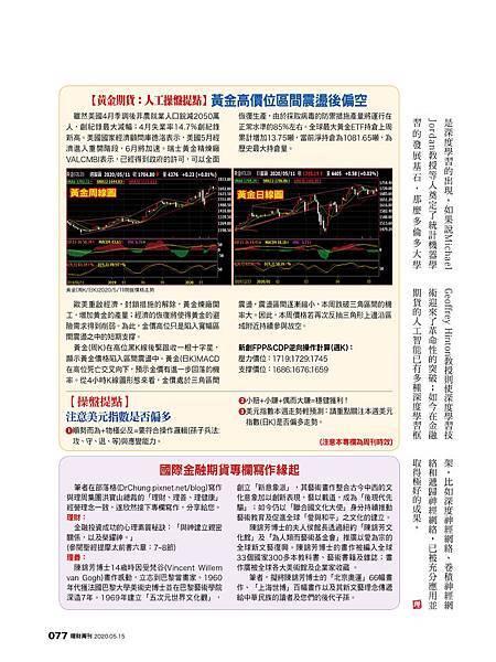 活用《金融AI理財》金融期貨人工智能發展已進到第四代技術革命 (理財周刊專欄)20200511_2.jpg
