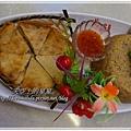 月亮蝦餅野雁米糕