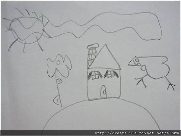 山坡上的房子