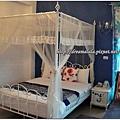 觀月民宿-新館,浪漫雙人套房(藍色系)