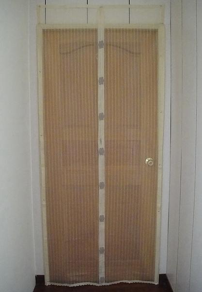 磁釦式防蚊門簾