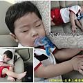 1Y2M18D-在車上睡著囉!