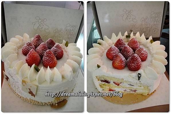 玫瑰烘焙坊(蛋糕券換的草莓蛋糕6吋)
