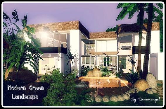 modern green landscape_cover