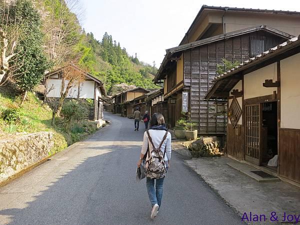 45.走在這彷彿進入了時光隧道,回到日本古時的江戶時代