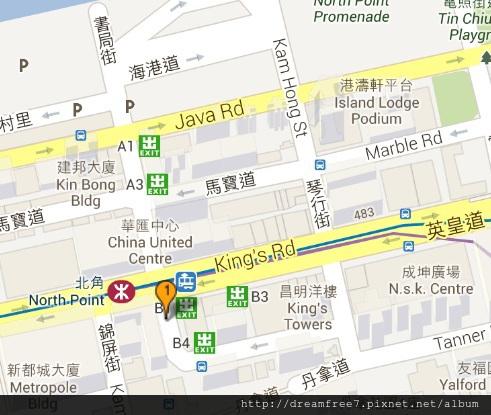 強記飯店地圖